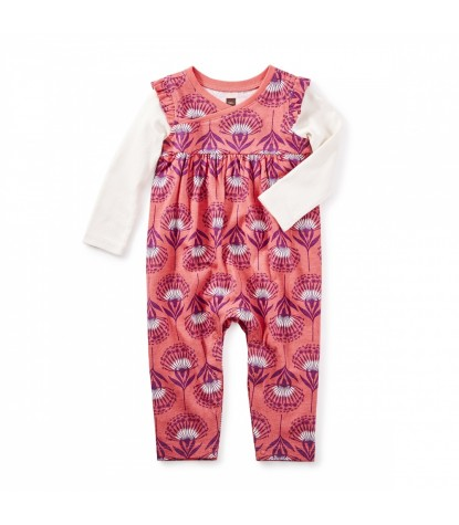 Tea Collection St. Kilda Wrap Neck Romper Product Image