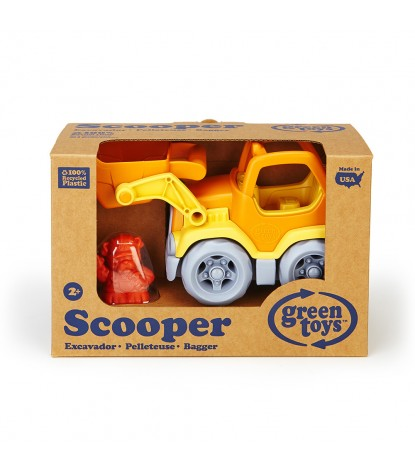 Green Toys Scooper Packaging