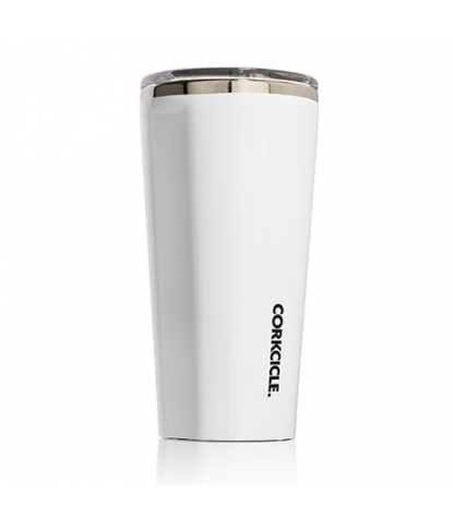 Corkcicle – Tumbler 16oz Gloss White