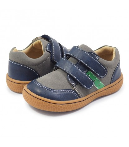 Livie and Luca Sagan Kids Sneaker in Navy Blue Product Image