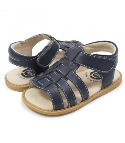 Livie & Luca - Finn Sandal Navy Blue