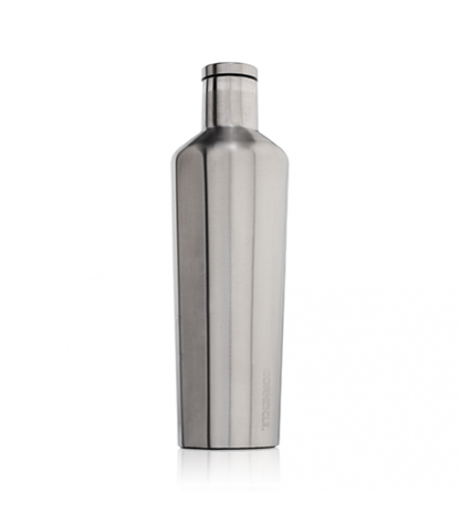 Corkcicle - Canteen 25oz Brushed Steel