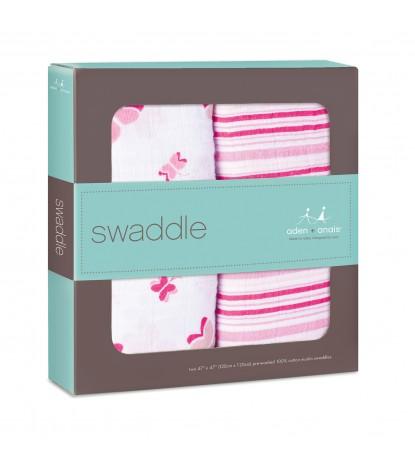 Princess Posie Swaddle 2-Pack