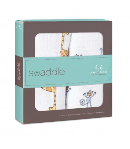 Jungle Jam Swaddle 2-Pack