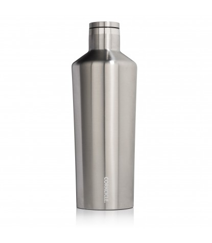 Corkcicle – Canteen 25oz Brushed Steel