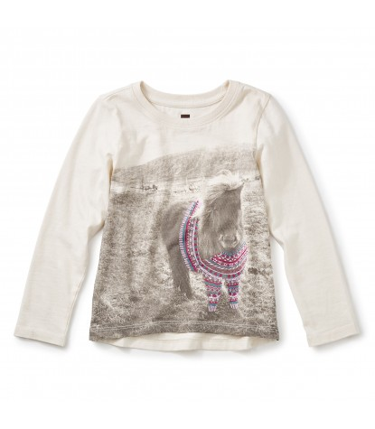 Tea Collection Shetland Sweater Graphic Tee Product Image