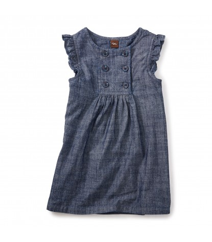 Tea Collection Citizen Chambray Jumper Product Image