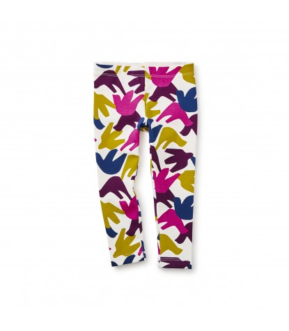 Tea Collection Winged Baby Leggins in Chalk Product Image