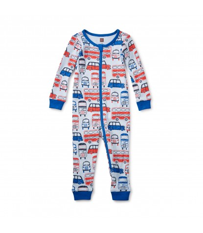 Tea Collection Waverley Station Baby Pajamas in Horizon Product Image