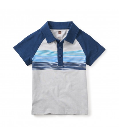 Tea Collection - Bodhi Surf Polo in Atmosphere