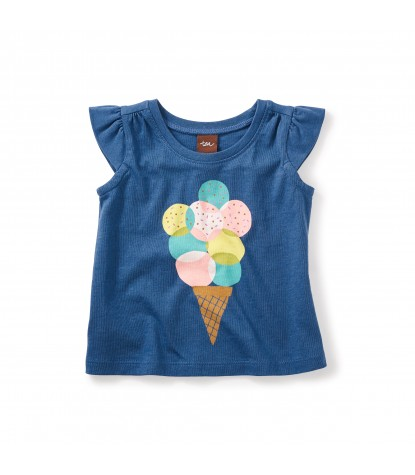 Tea Collection - Sweet As Graphic Tee Copen Blue