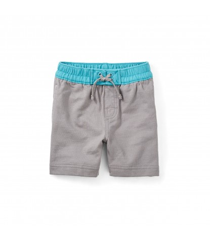 Tea Collection Boardies Baby Surf Shorts in Graphite