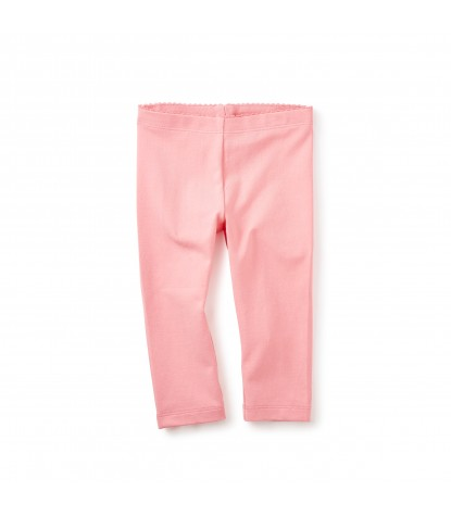 Tea Collection Solid Capri Leggings in Bubblegum Pink