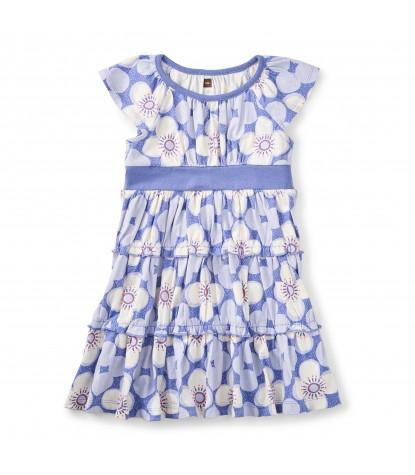 Tea Collection Starflower Twirl Dress in Han Purple
