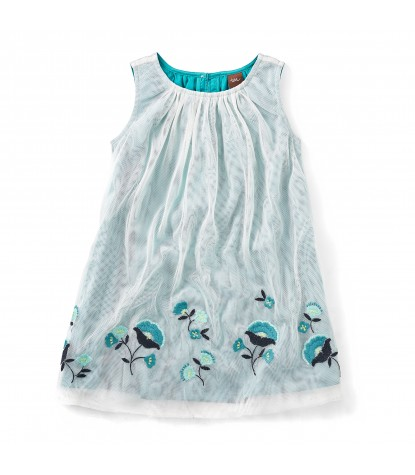 Tea Collection Connie Sue Tulle Dress in Mermaid