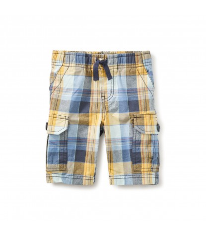 Tea Collection Kanawinka Cargo Shorts in Moonlight Blue