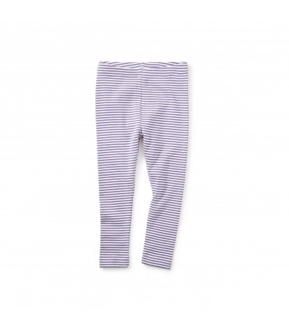 Tea Collection Striped Baby Leggings in Taffy Product Image