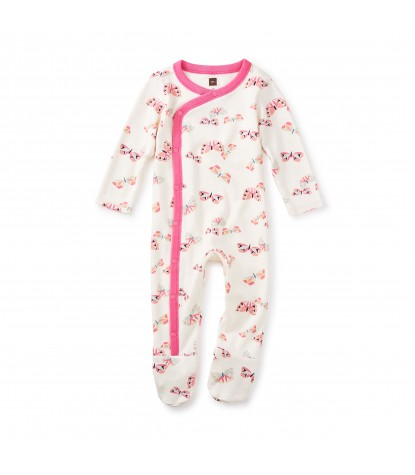 Tea Collection Flutterby Footed Romper