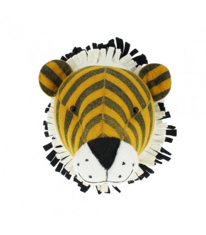 Fiona Walker Mini Tiger Head Wall Mount