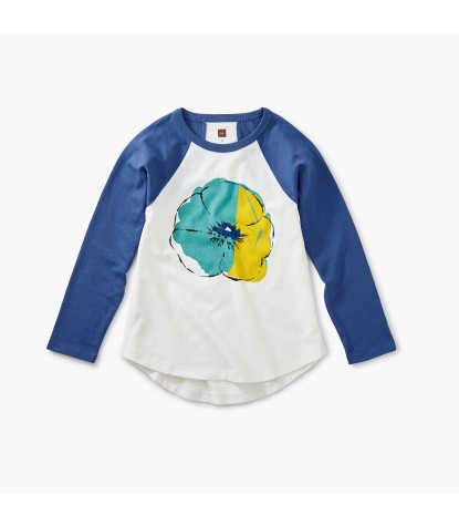 Tea Collection Painted Flower Graphic Tee Product Image