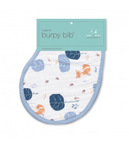 Into the Woods Organic Burpy Bib (Packaging)