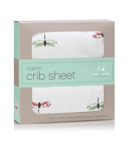 Aden + Anais - Organic Crib Sheet Snuggle Bugs