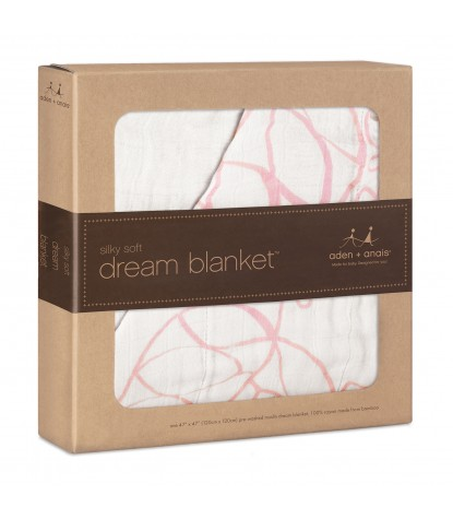 Aden + Anais - Silky Soft Dream Blanket Tranquility Leafy