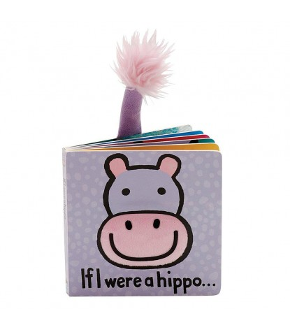 Jellycat – If I Were a Hippo Board Book