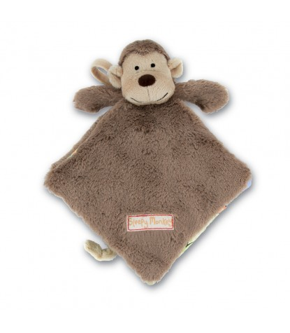 Jellycat – Sleepy Monkey Soft Book