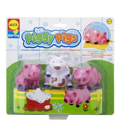 Alex Toys – Piggy Pigs in the Tub