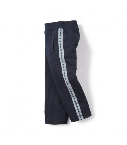 Tea Collection – Bolivian Side Stripe Pants Heritage Blue