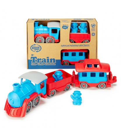 Green Toys – Train, Blue & Red