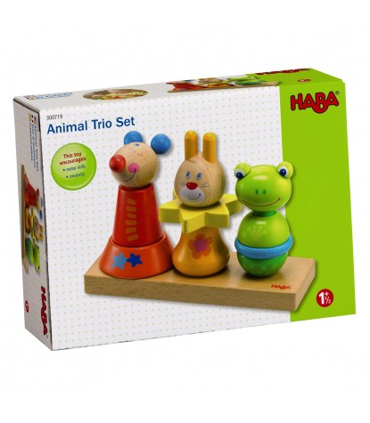 Haba – Animal Trio Pegging Game