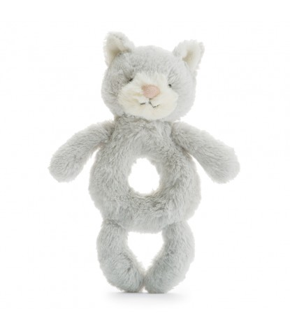 Jellycat – Bashful Grey Kitty Grabber