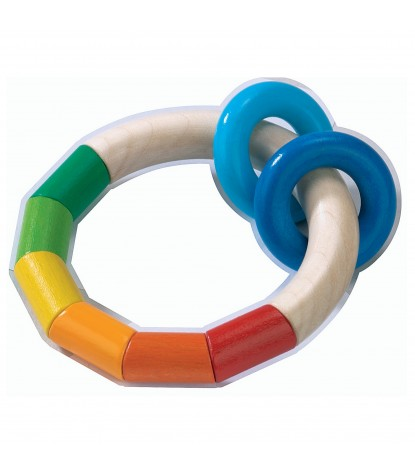 Haba – Kringlering Infant Teether Rattle