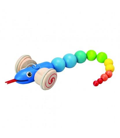 Plan Toys – Pull-Along Snake