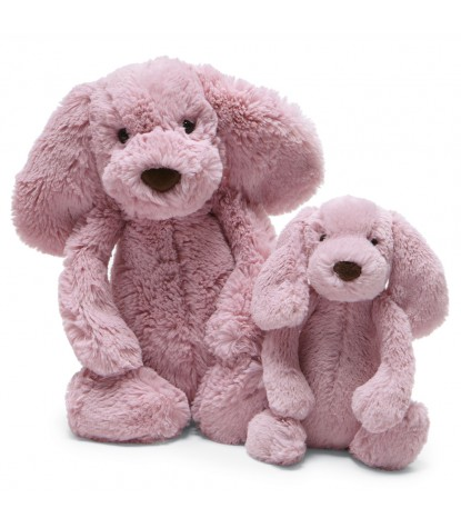 Jellycat – Tulip Pink Puppy Rattle