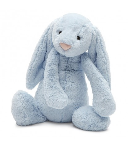 Jellycat – Bashful Baby Blue Bunny Huge