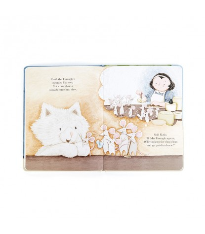 Jellycat – Katie the Extraordinary Kitten Board Book