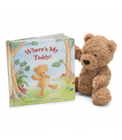 Jellycat – Where's My Teddy Board Book