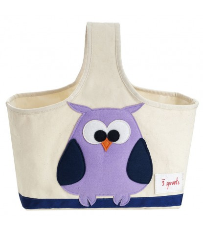 3 Sprouts – Owl Storage Caddy