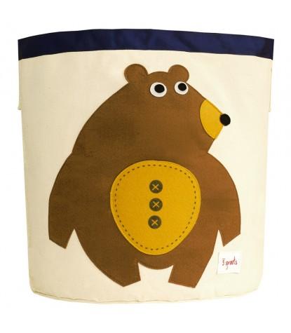 3 Sprouts – Bear Storage Bin