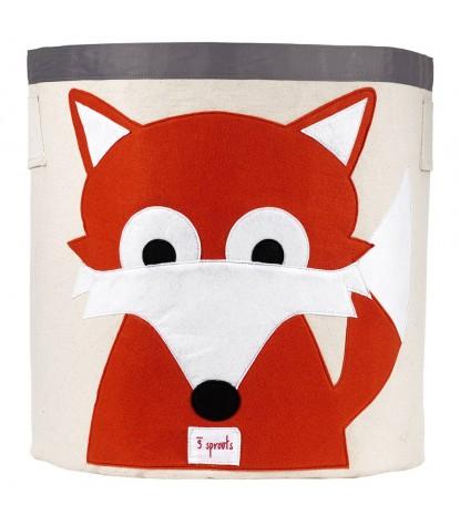 3 Sprouts – Fox Storage Bin