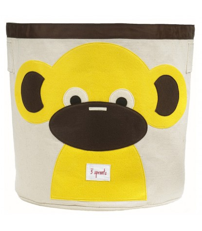 3 Sprouts – Monkey Storage Bin