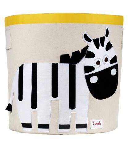 3 Sprouts – Zebra Storage Bin