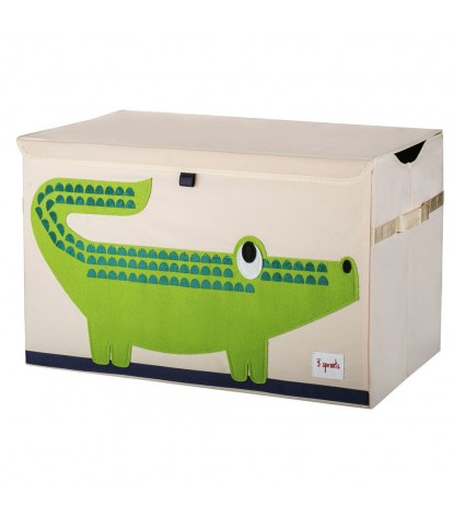 3 Sprouts – Crocodile Toy Chest