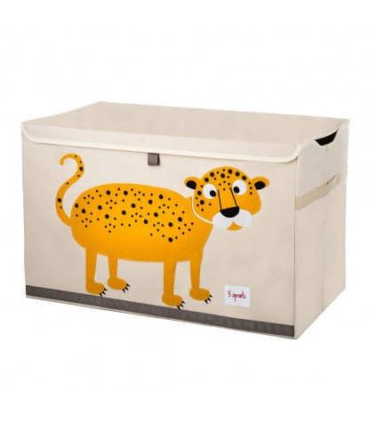 3 Sprouts – Leopard Toy Chest