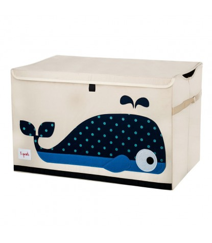 3 Sprouts – Whale Toy Chest