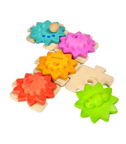 Plan Toys – Gears  & Puzzle Standard