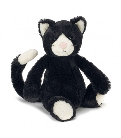 Jellycat – Bashful Black & White Kitten 'New'
